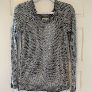 THE coziest sweater ~ grey knit sweater